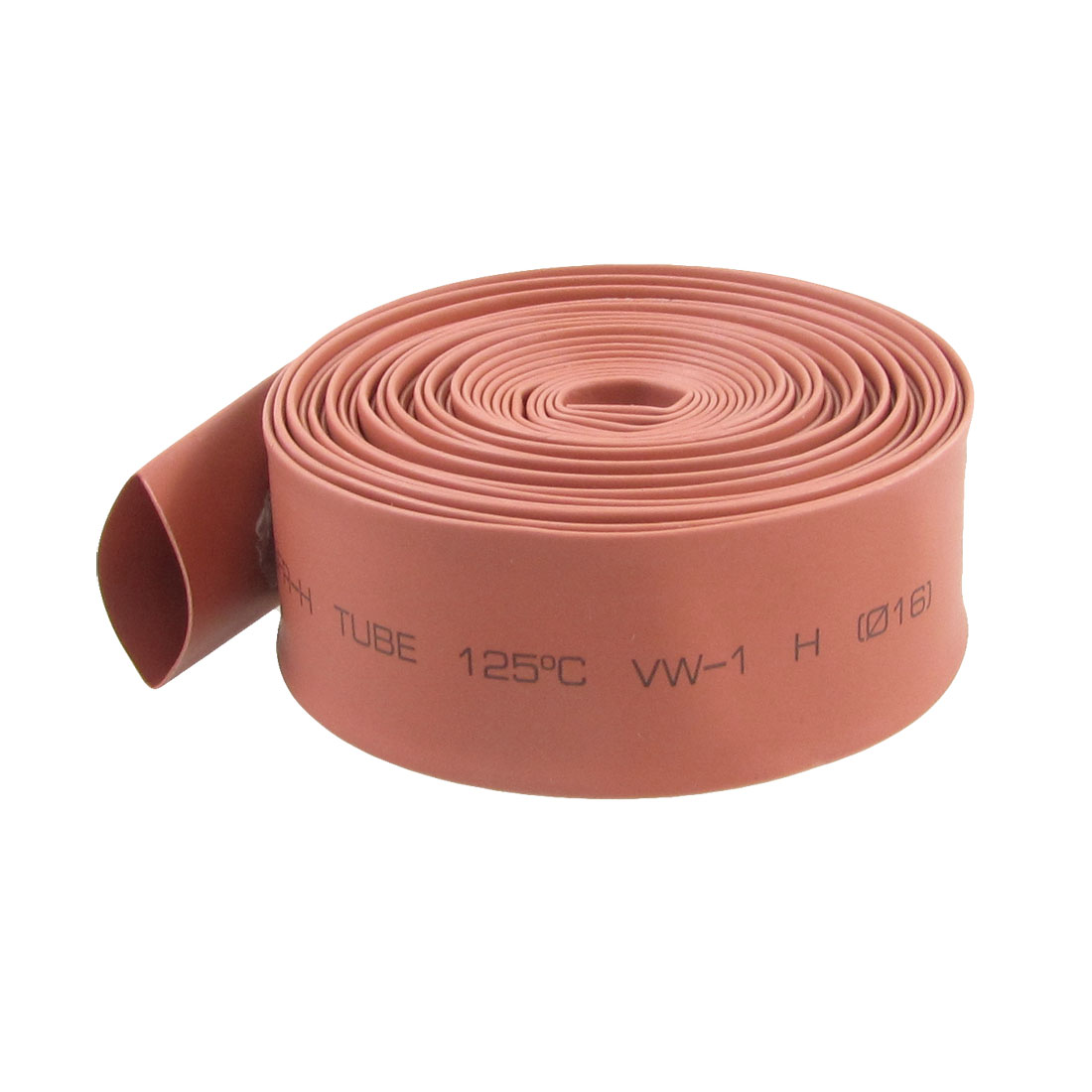 4M 13.1 Ft Long 16mm Dia. Red Polyolefin Heat Shrinkable Tube