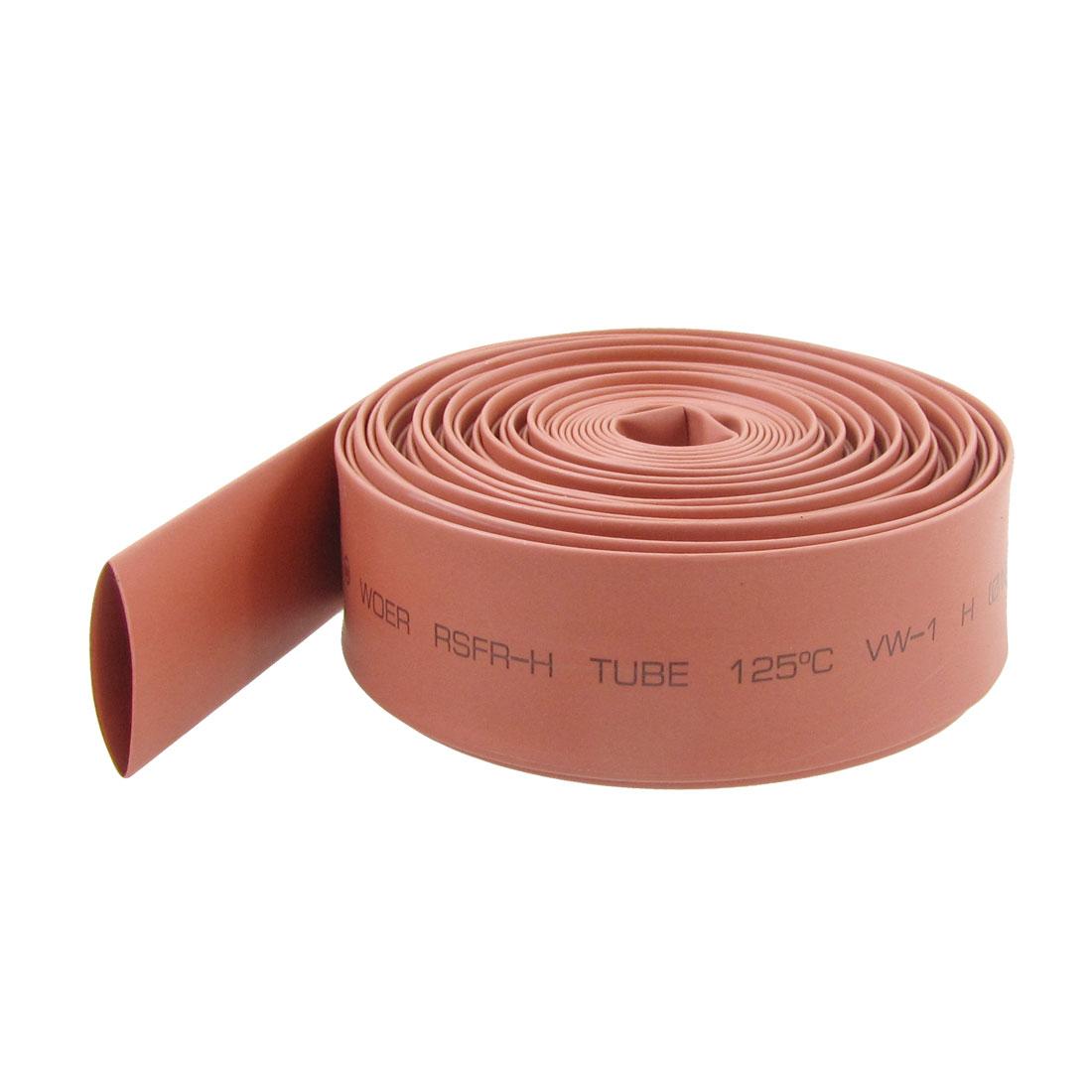 16mm Diameter 2:1 Ratio Red Polyolefin Heat Shrinkable Tube 6M