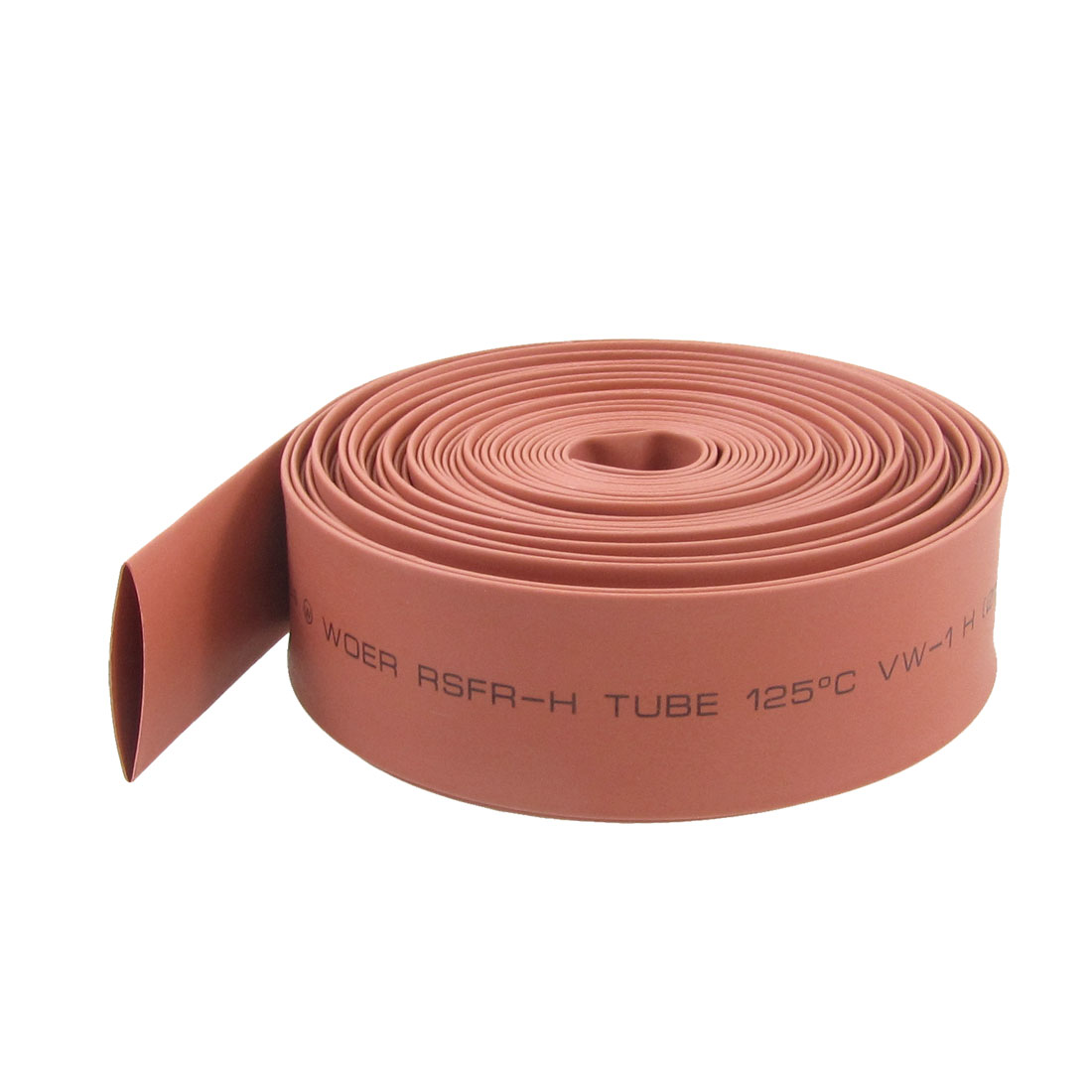 Ratio 2:1 15mm Diameter Red Heat Shrinkable Tube Tubing 6M