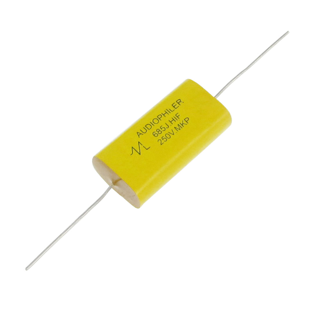 6.8uF 250V Axial Leads Metallized Polypropylene Film MKP Audio Capacitor