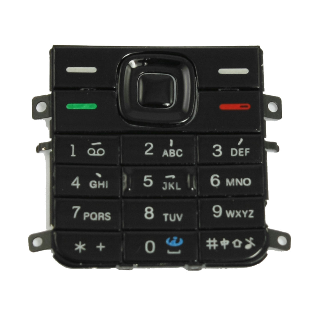 Plastic Replacement Keypad Keyboard for Nokia 5130 Blk