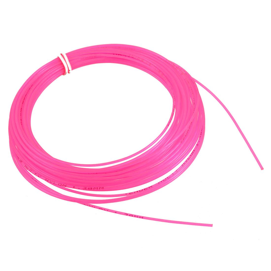 1.4mm Gauge 12m 39.4Ft Length Pink Tennis Racket String Line