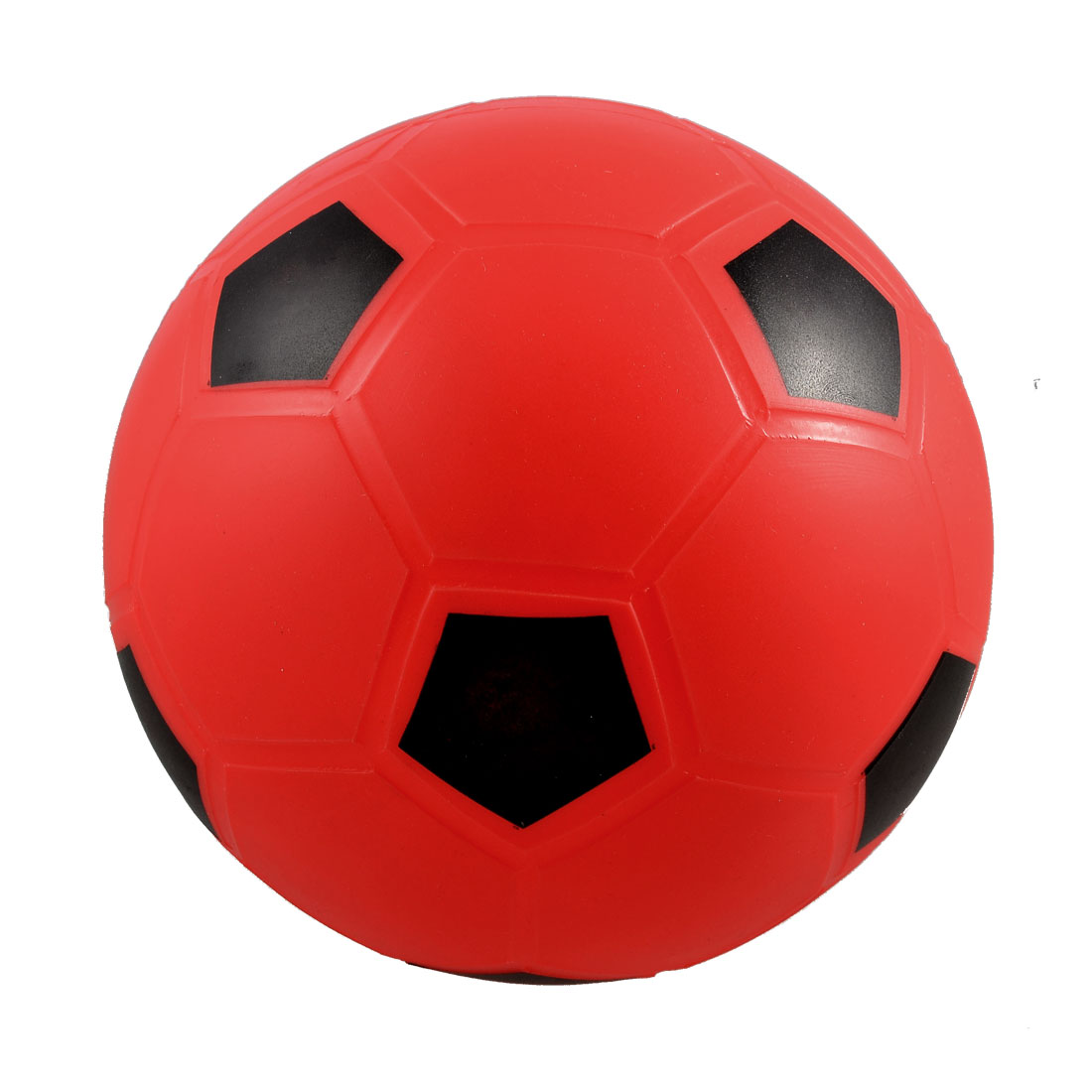 "Kids Children 5.5"" Inflatable Dia Red PVC Football Soccer Toy"