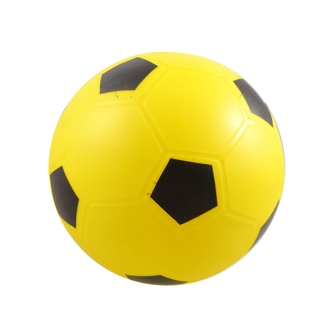 Yellow PVC Football Soccer Toy Plaything for Kids Children