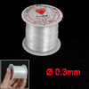 Fisherman Jewerly Maker Nylon Thread 0.3mm Dia Fishing Line Spool 17 Lbs Clear