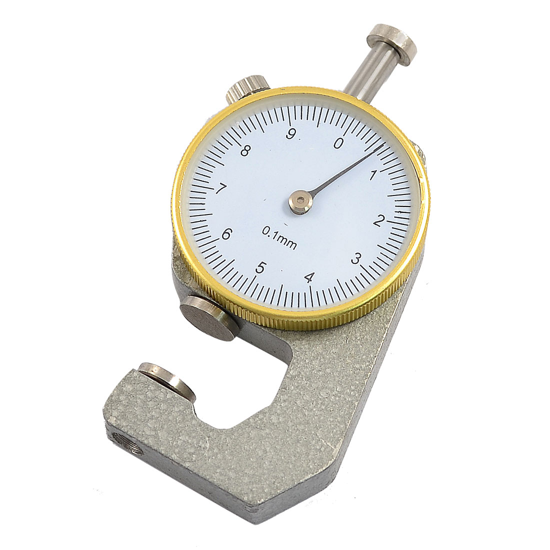 0 to 10mm Dial Indicator Pocket Thickness Gage Gauge Tool