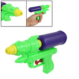 Children Plastic Squirt Water Spray Gun Toy Green Purple
