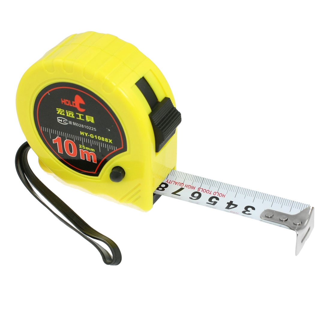 Self-Retract Flexible Metric Tape Measure Measuring Tools 10M x 1""