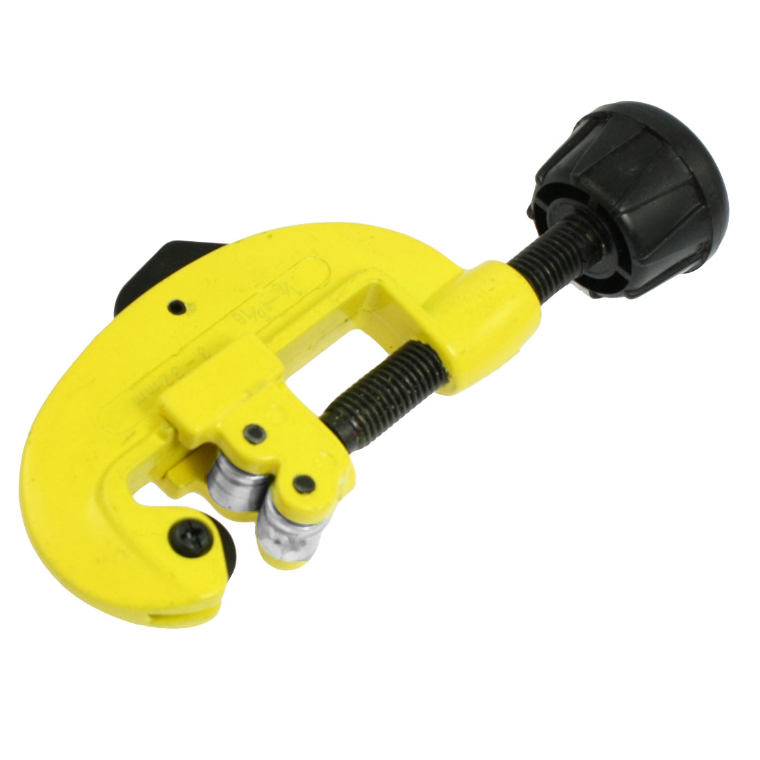 "1/8""-1 5/16"" Cutting Swivel Knob Tubing Pipe Cutter Hand Tool Yellow 5.5"""