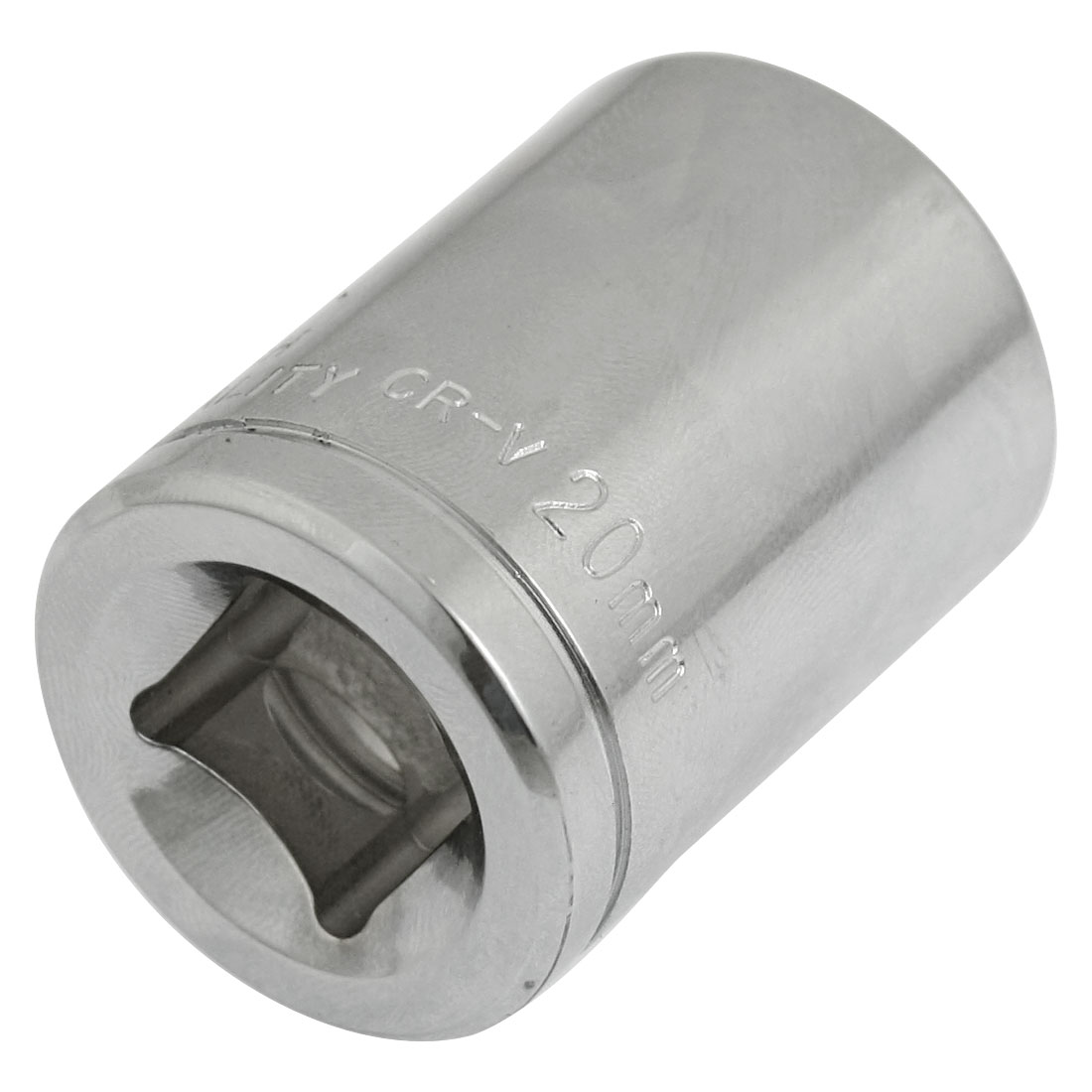 "Chrome-vanadium Steel Standard 1/2"" Drive 20mm 6 Point Axle Nut Socket"