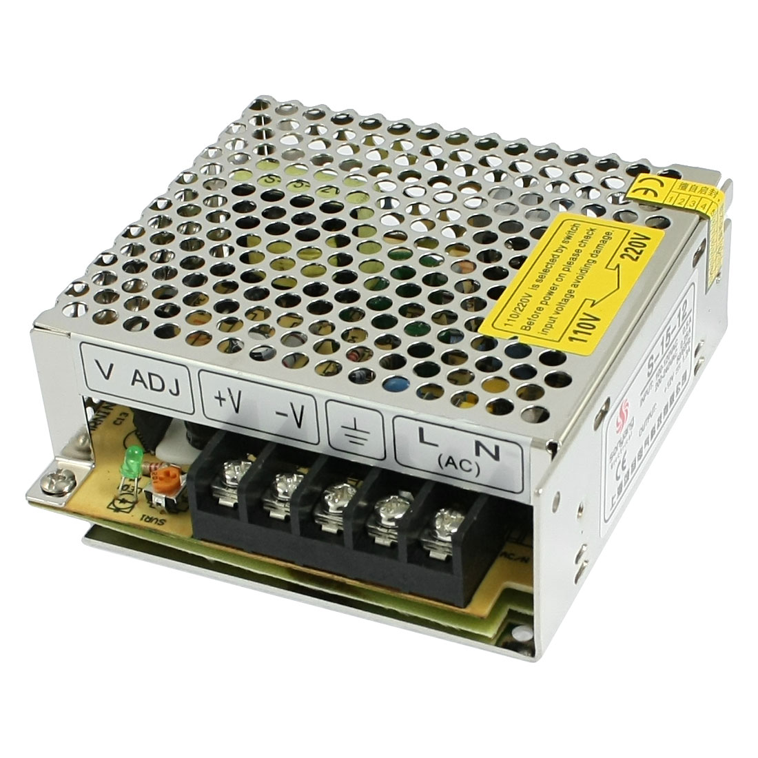 AC 110/220V DC 12V 1.3A 25W Switching Power Supply Driver for LED Light Display
