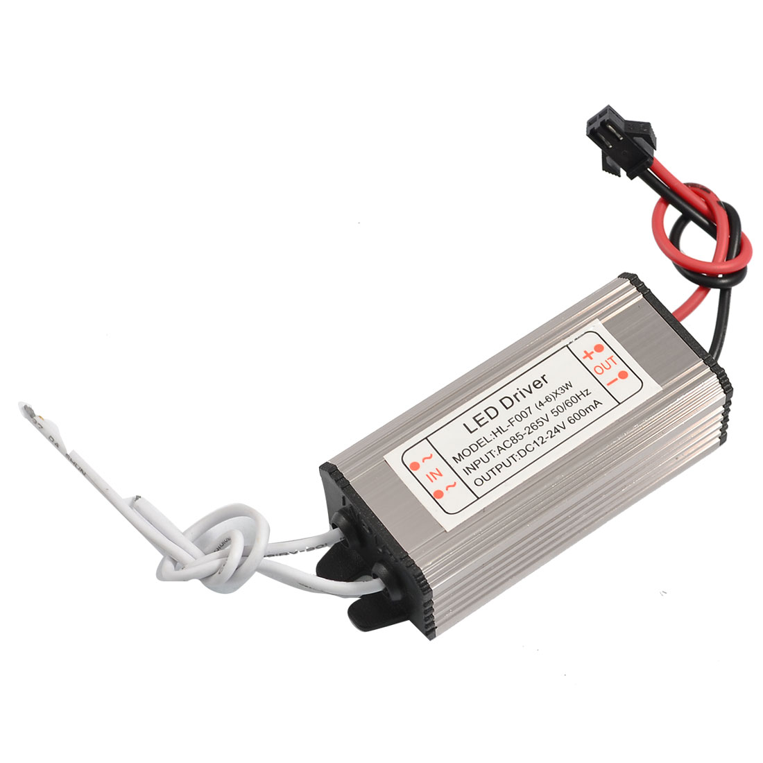 AC 110-220V to DC 12-24V 600mA (4-6)x3W LED Power Supply Driver Transformer
