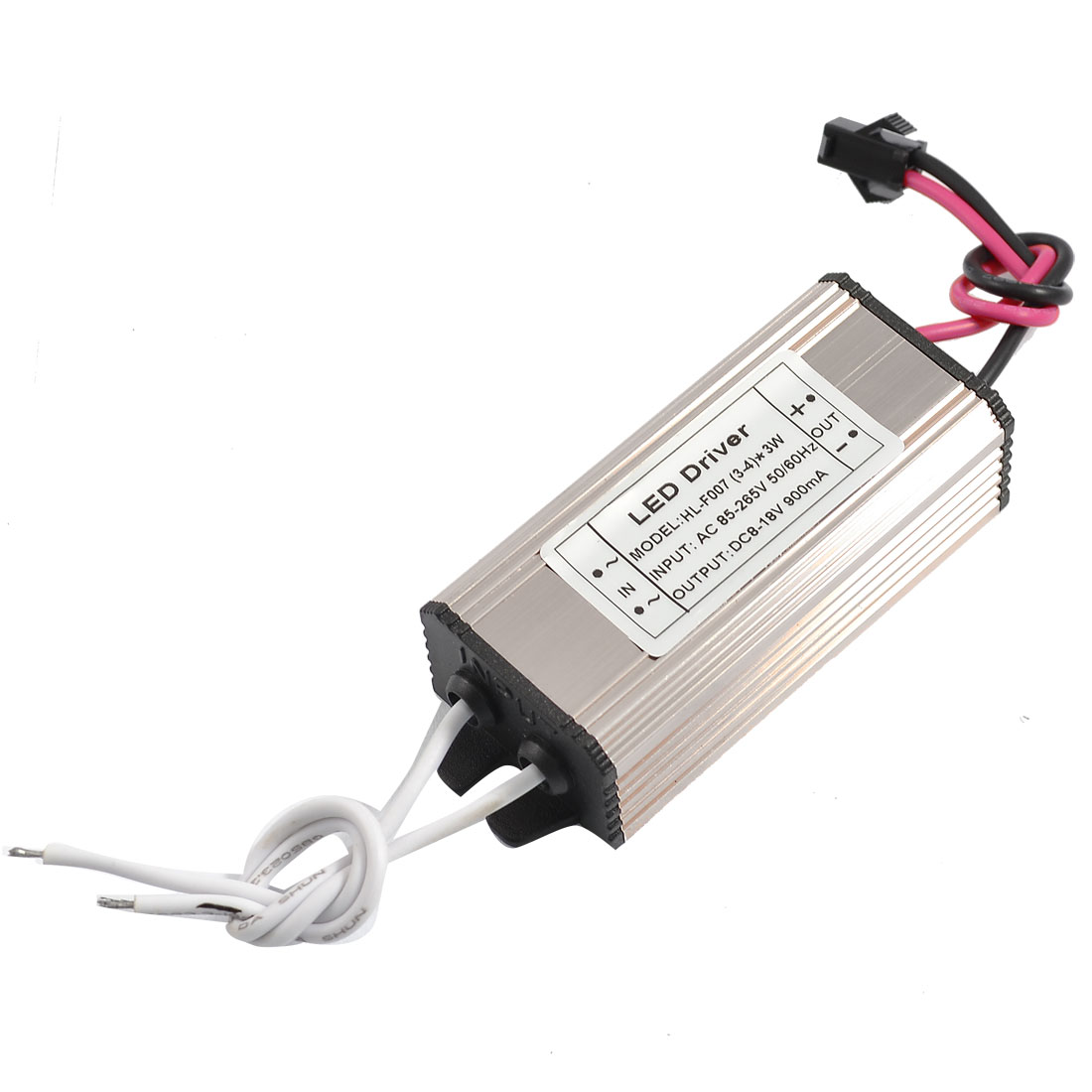 AC 110-220V DC 8-18V 900mA Water Resistant Power Supply Driver for 3-4x3W LED Light