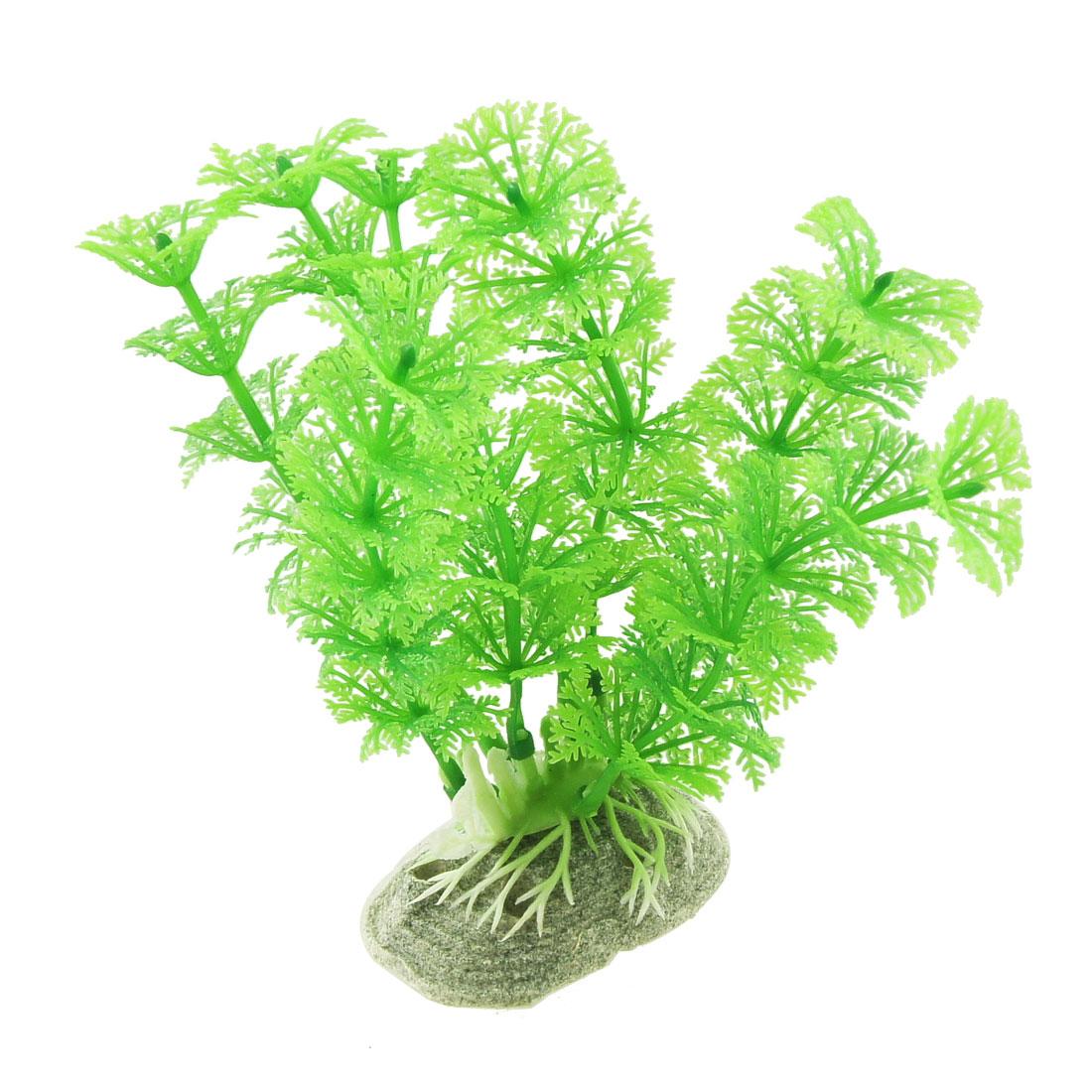 "Fish Tank 5"" Emulational Underwater Plant Grass Decor Green"