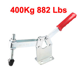 400Kg 882 Lbs Holding Capacity Metal Horizontal Type Toggle Clamp