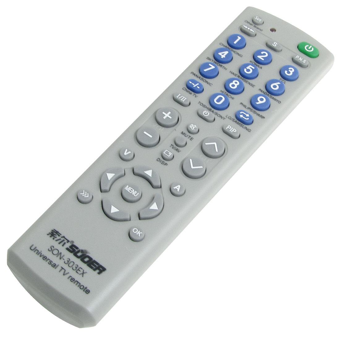 Battery Power Universal TV Remote Controller