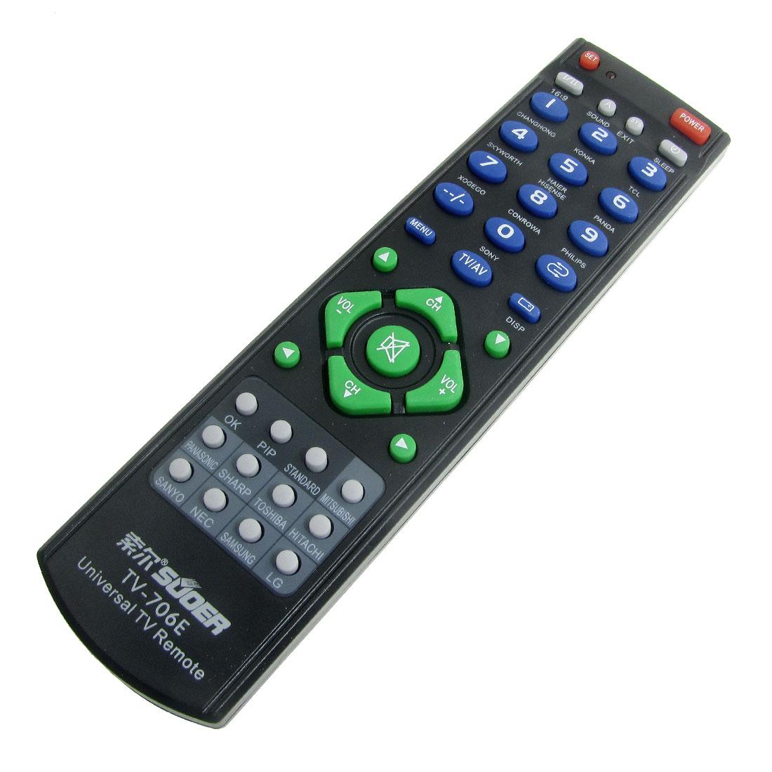 Black Universal TV RC Remote Controller for Hisense