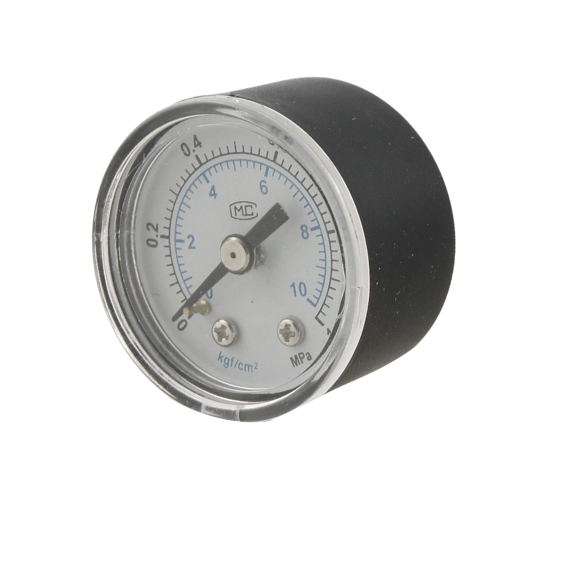 "0-1MPa 0.37"" Threaded Dial Air Compressor Pressure Gauge"
