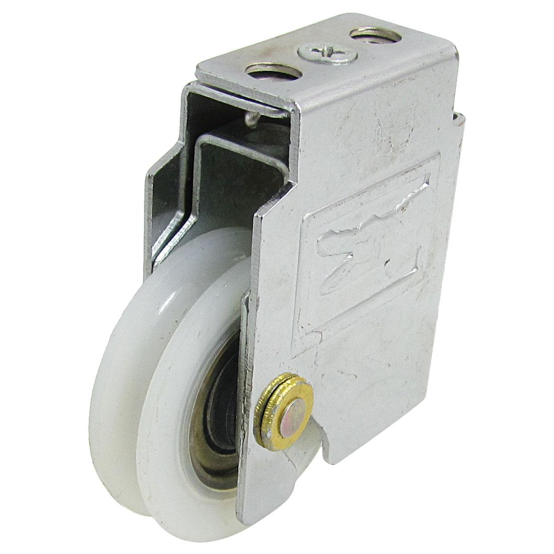 43mm Dia PU Metal Roller Door Window Sash Weight Pulley Wheel