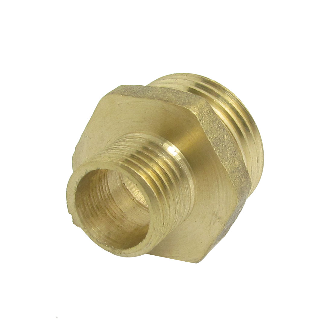 20mm x 13mm Male Thread Reducer Brass Pipe Nipple Fitting