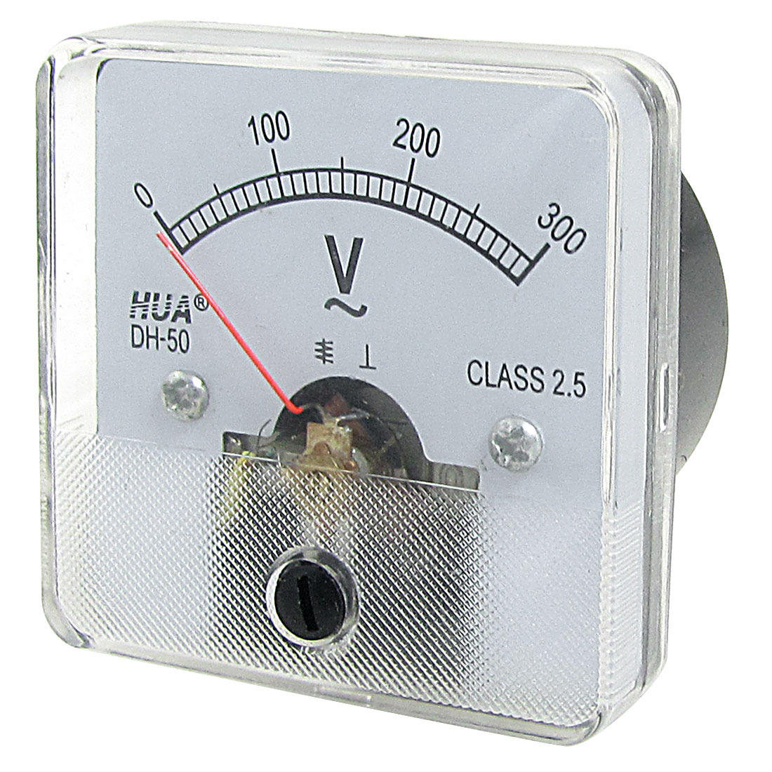 DH50 AC 0-300V Square Analog Volt Panel Meter Gauge