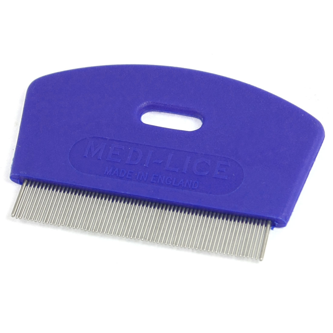 Blue Plastic Grooming Shedding Rake Comb for Cat Dog Pet