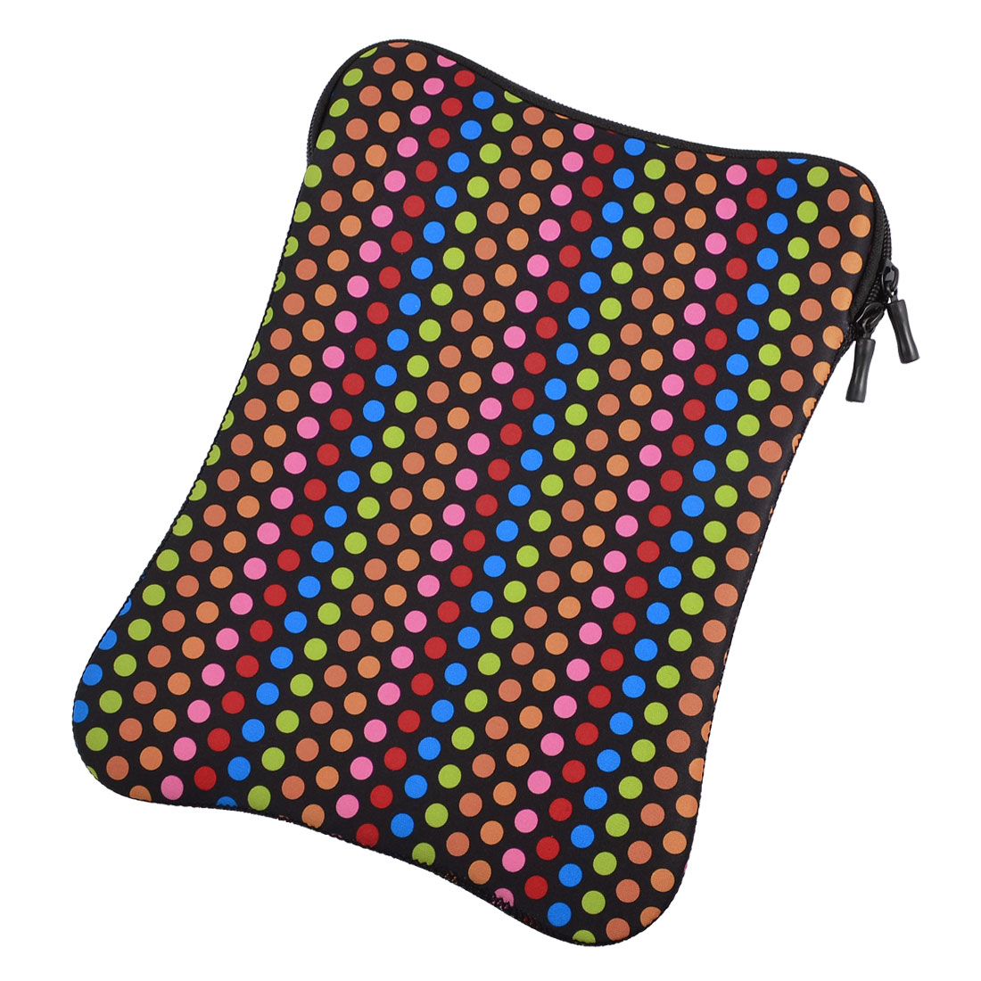 "10"" 10.1"" 10.2"" Colorful Dot Soft Neoprene Laptop Sleeve Bag Case"