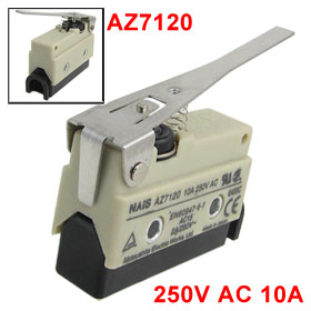 AZ7120 Screw Terminals Long Hinge Lever Enclosed Basic Limit Switch