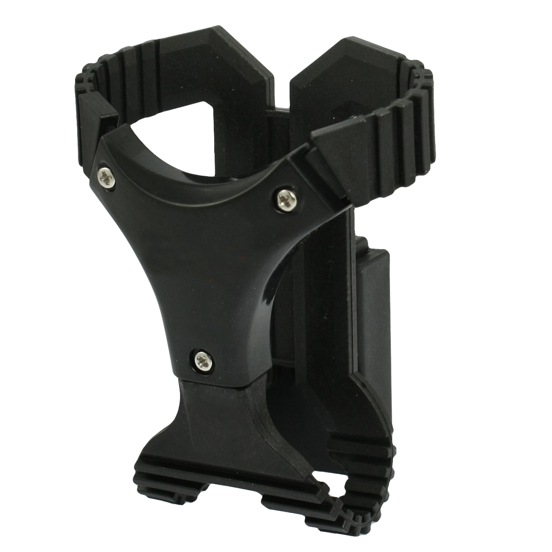 Car Vehicle Interior Rotating Cell Phone Holder Black