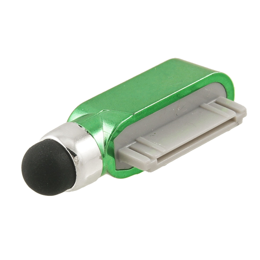 Green Touchpad Stylus Pen Data Port Anti-Dust Jack for iPad iPhone 3G