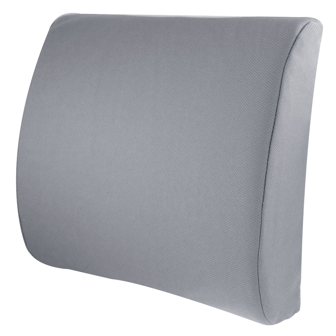 Car Interior Lumbar Back Support Rest Padded Pillow Cushion Gray