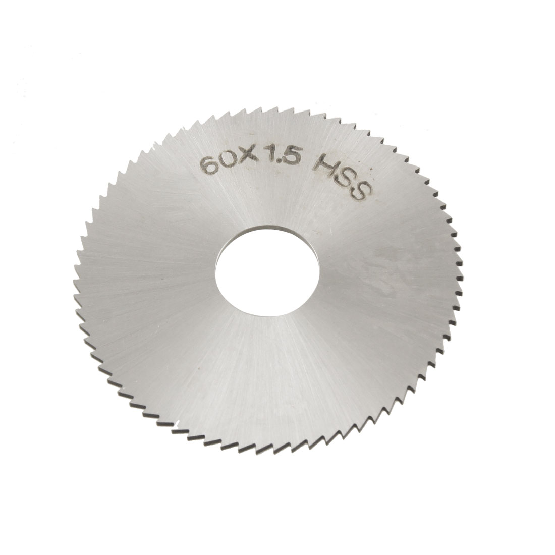 60mm x 1.5mm x 16mm HSS 72T Slitting Saw Blade Cutting Tool