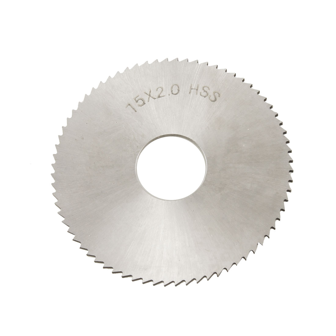 75mm x 22mm x 2mm 72T HSS Circular Slitting Saw Blade Cutter