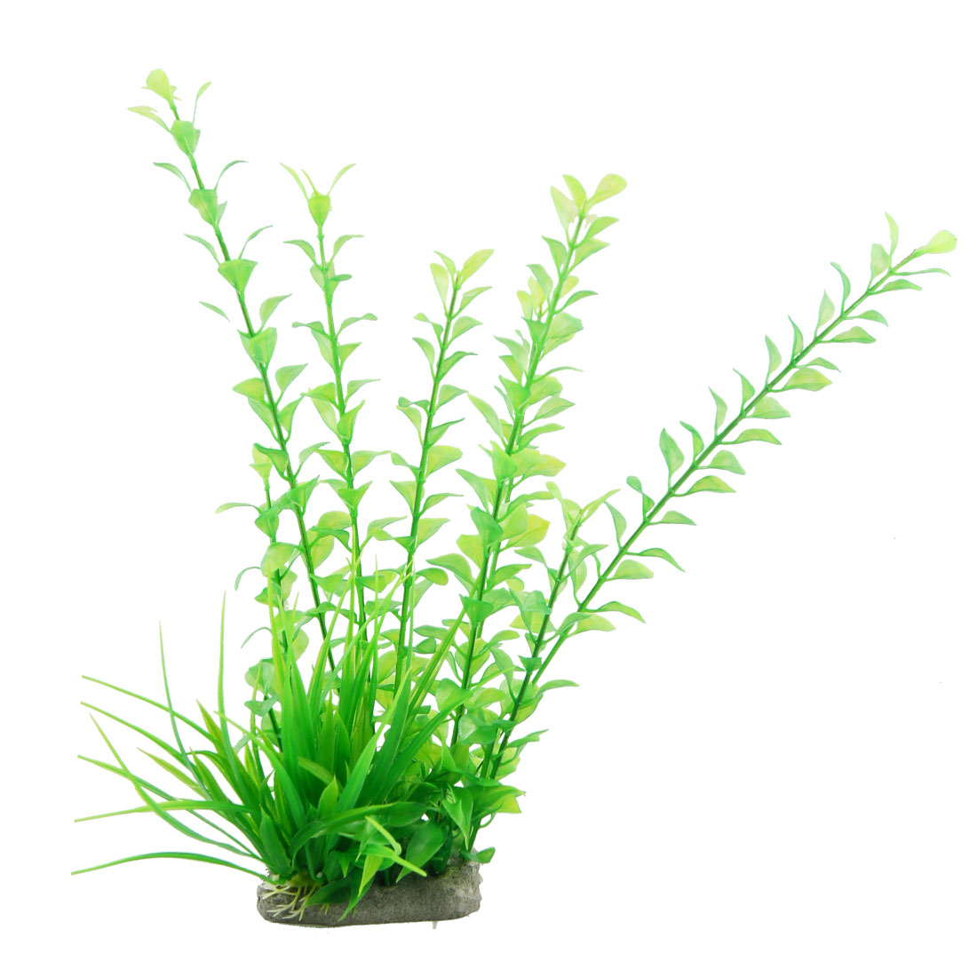 "14.2"" Height Green Plastic Water Grass Ornament for Aquarium"