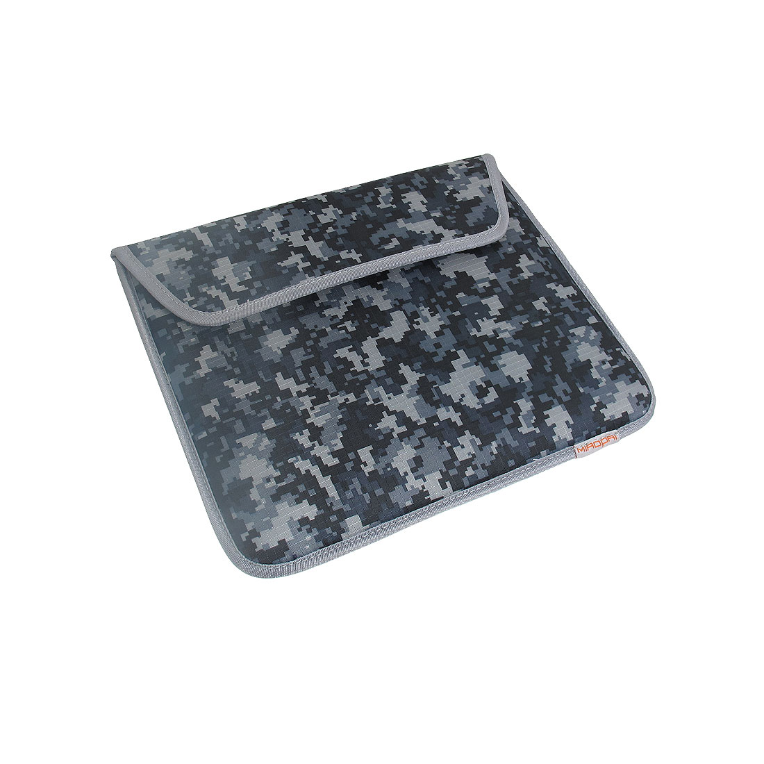 "10"" 10.1"" Black Gray Camouflage Laptop Sleeve Bag Case Cover"