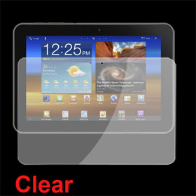 Anti-dust Clear LCD Screen Protector for Samsung P7300
