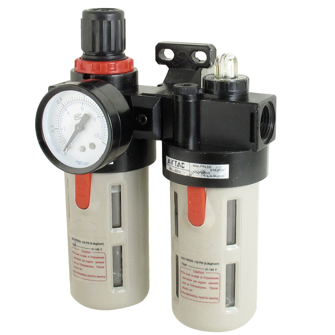 BFC4000 Air Source Treatment Unit Pneumatic Regulator Lubricator Set