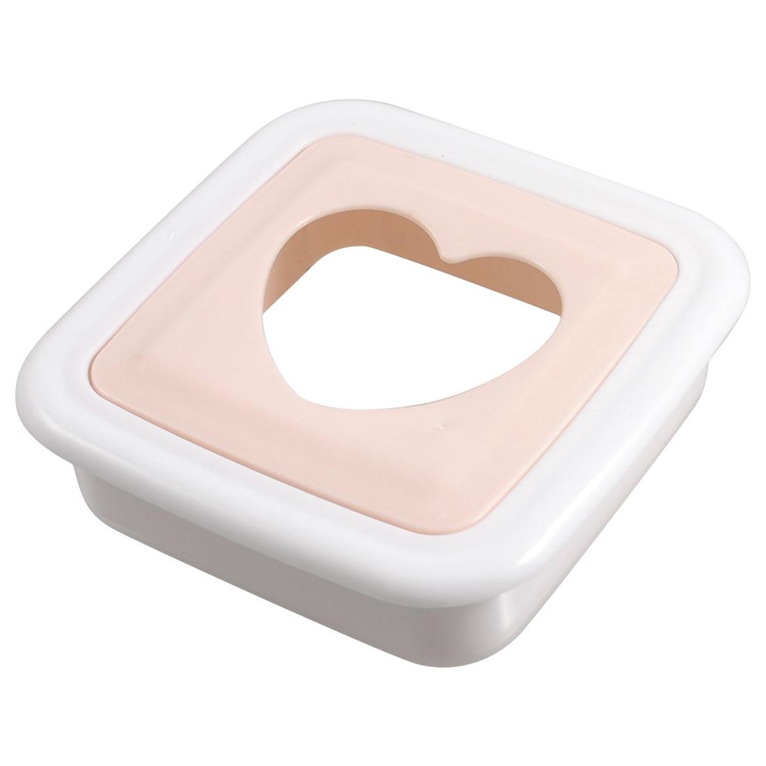 White Pink Plastic DIY Bread Maker Ice Cream Sandwich Molds