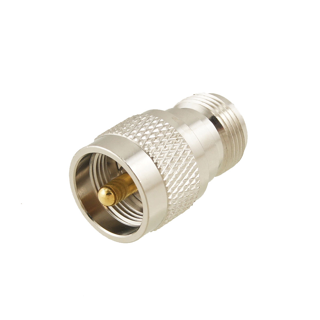 UHF Male PL259 to N Female Jack Straight Coax RF Adapter