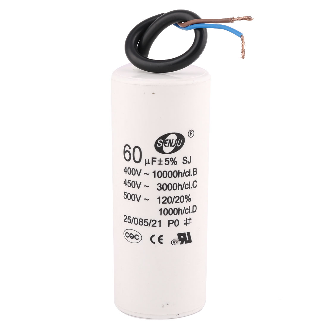 Air Conditioner AC 450V 60uF 50/60Hz CBB60 Motor Run Capacitor