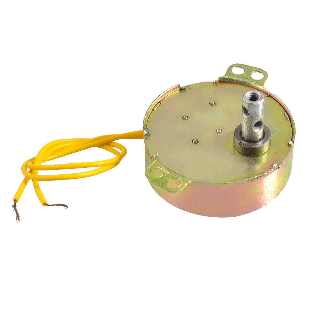 Yellow Wired AC 220V 50/60Hz 4 Watt 5RPM Synchronous Motor