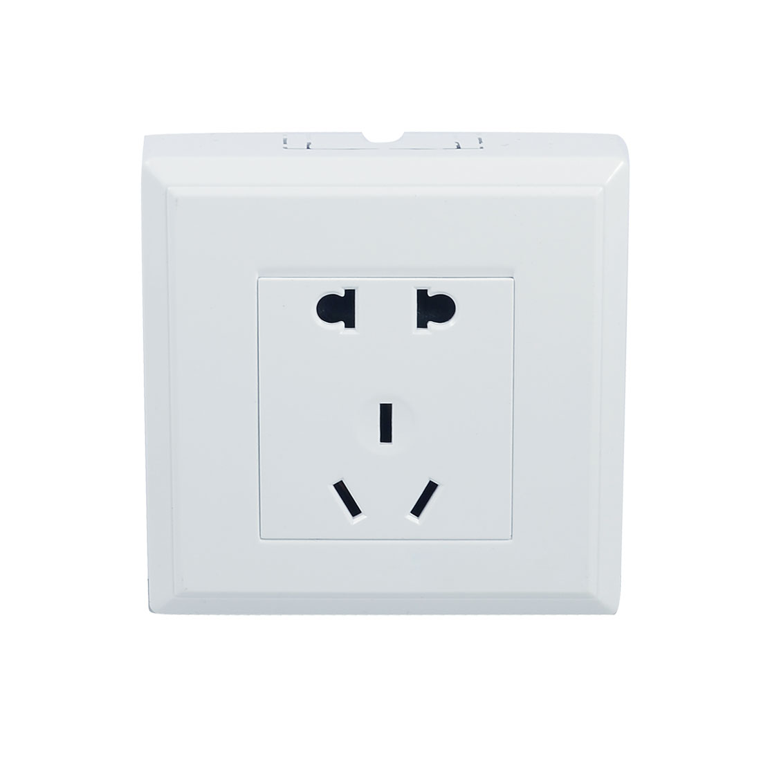 Square US EU Outlet AU Socket Wall Plate 10-16A AC 110-250V