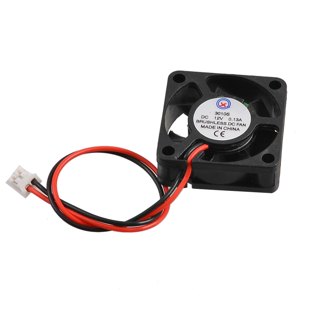 30mm x 30mm x 10mm 3010S 12V 0.13A Brushless DC Cooling Fan