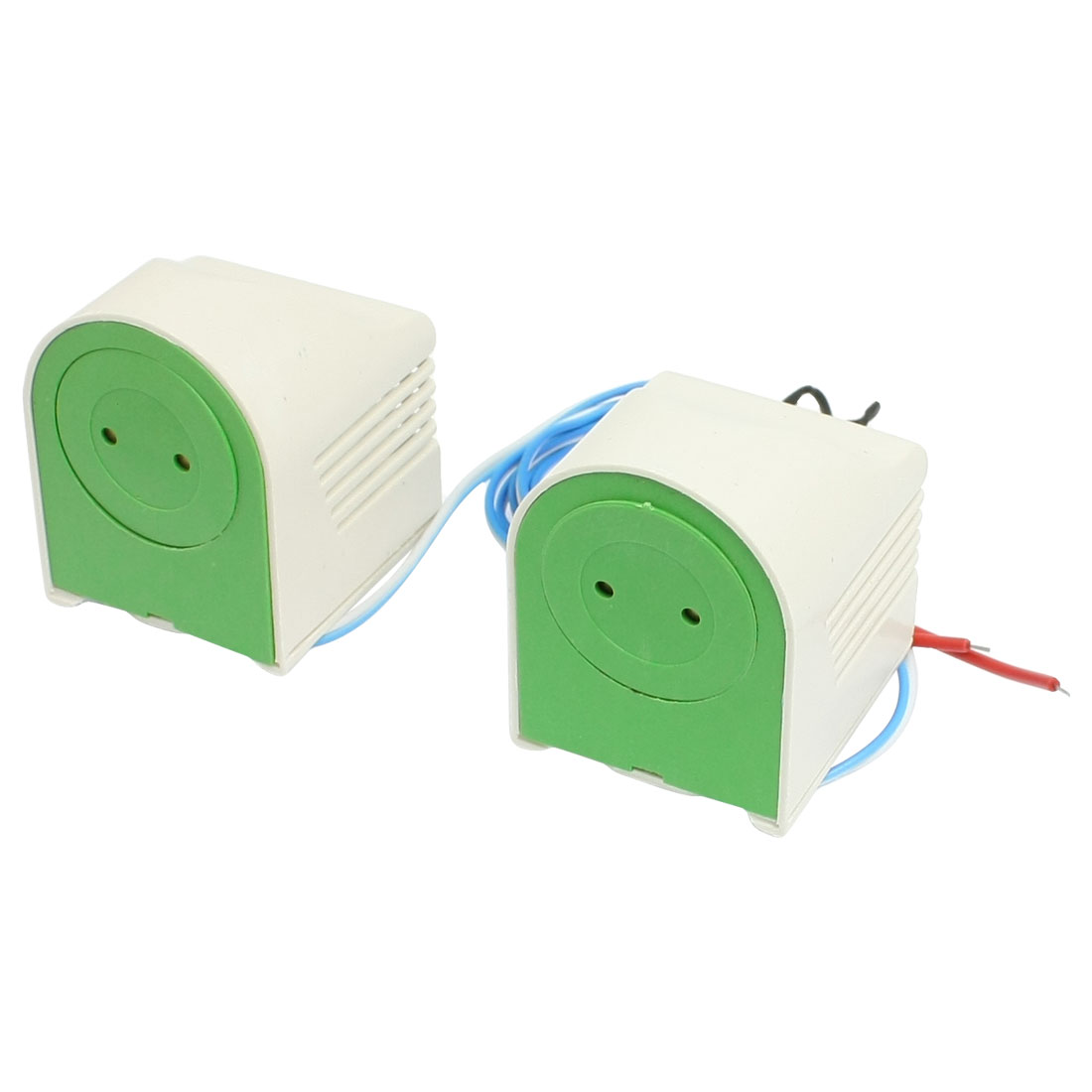 Pair White 40W Energy Saving Fluorescent Lamp Holder Ballast