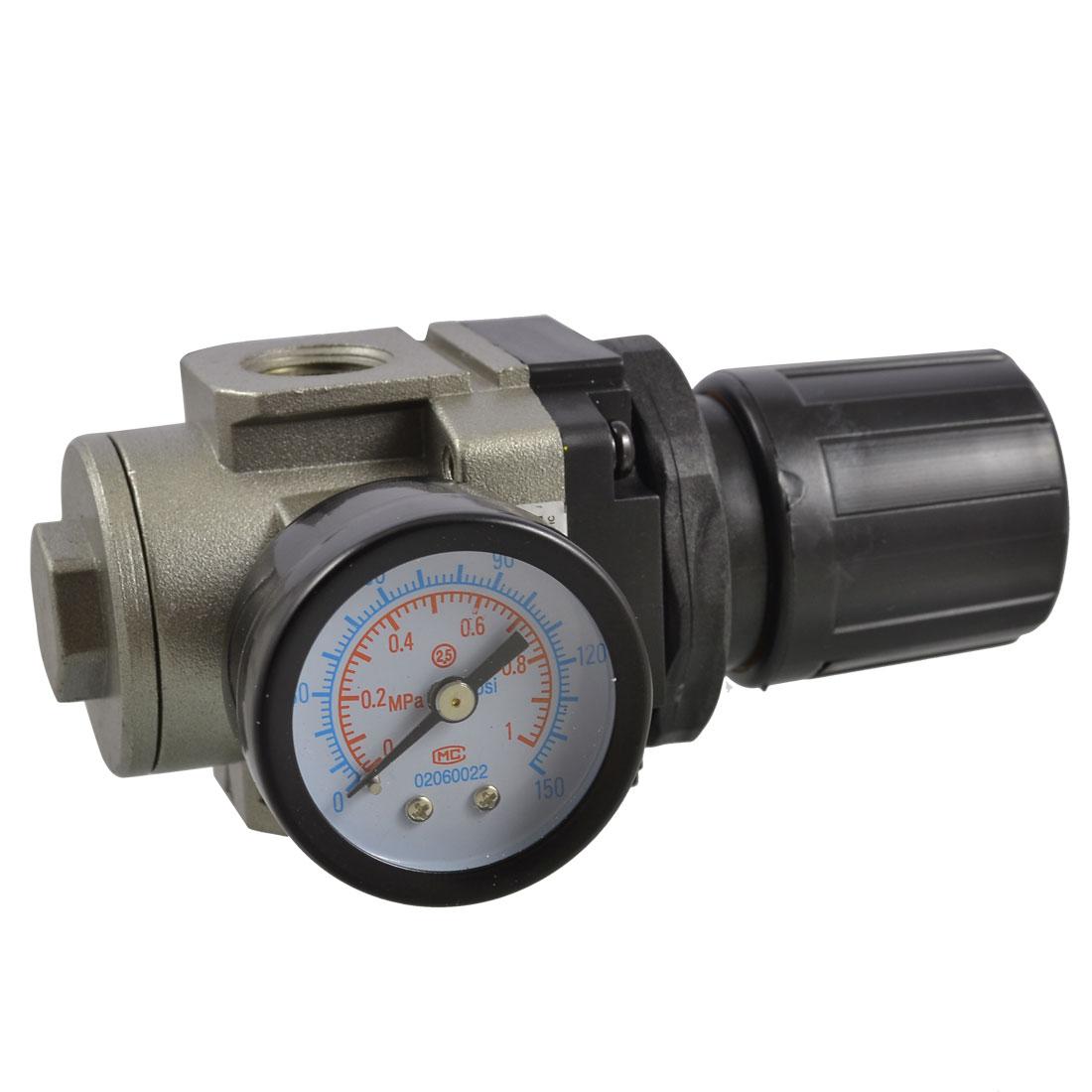 0-1 MPa Gauge Pneumatic Air Source Treatment Pressure Regulator