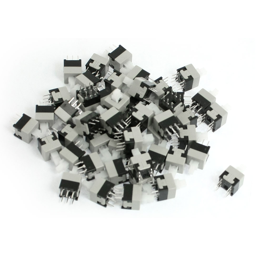 50 Pcs Momentary Action 6 Pins Torch Push Button Switch 8.5x8.5mm