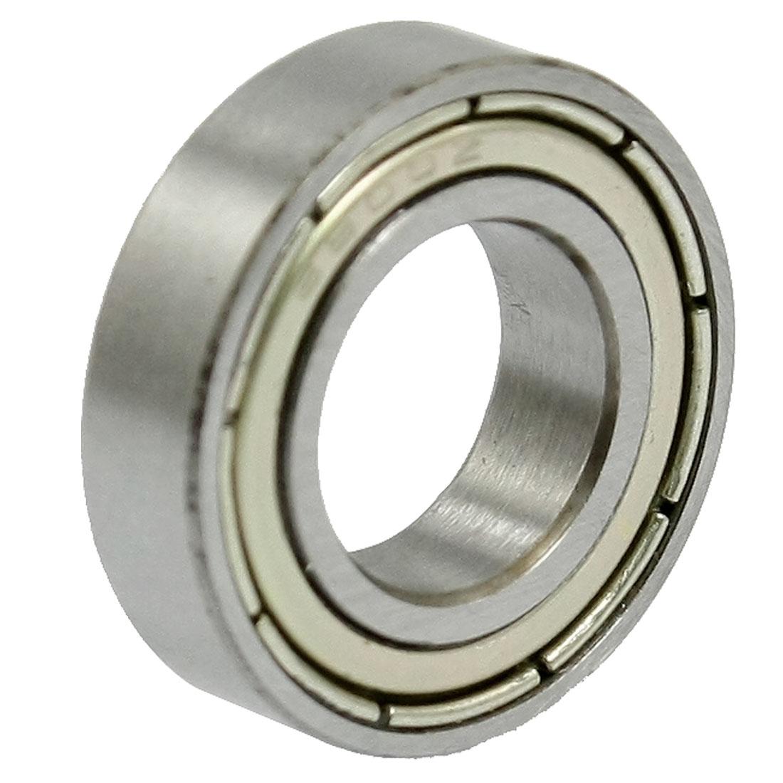 10mm Inner Diameter Shielded Deep Groove 6800Z Ball Wheel Bearing