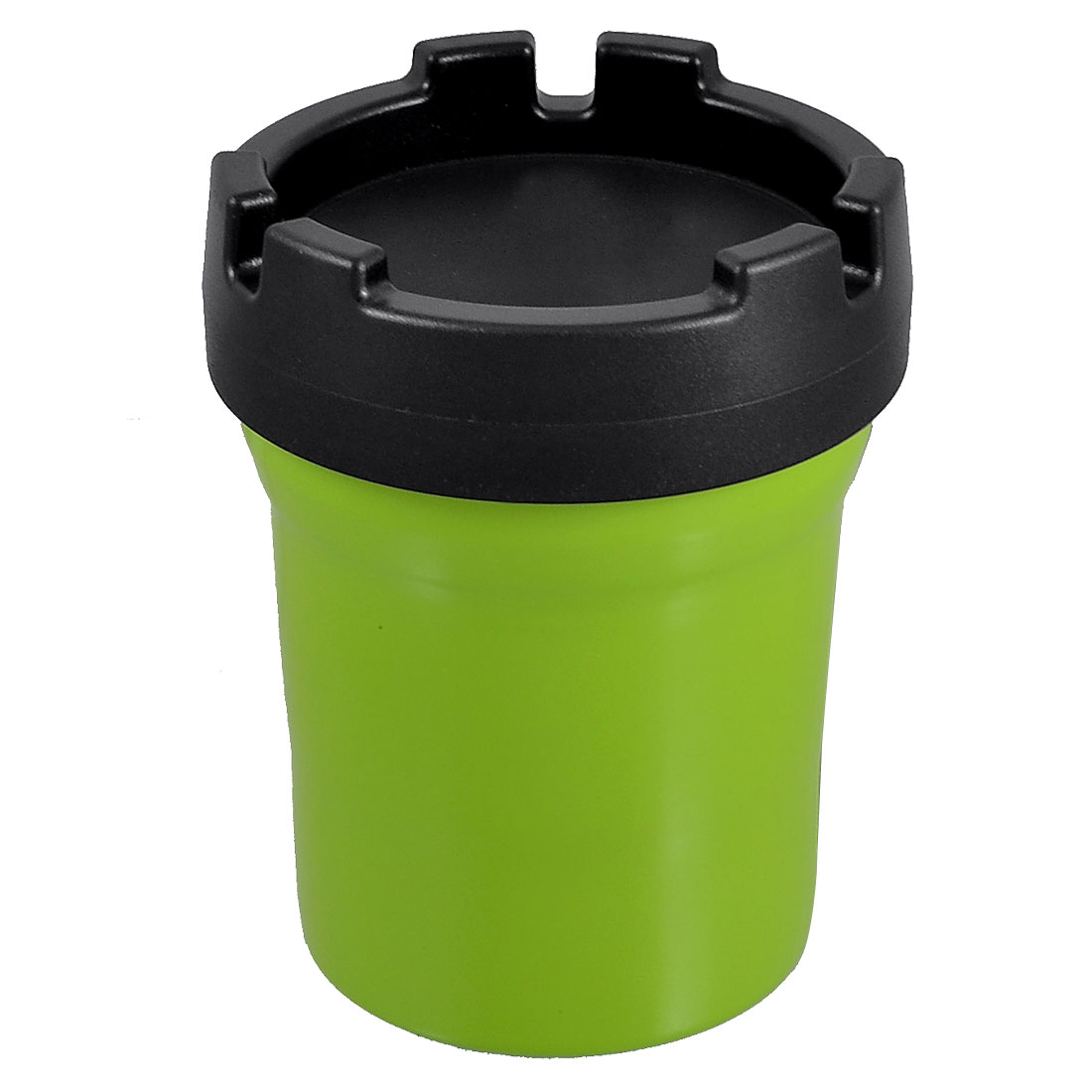 Car Self Extinguishing Ashtray Cigarette Smokeless Butt Bucket Green