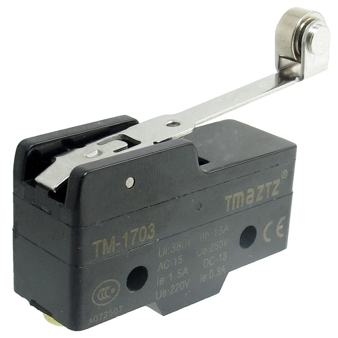 TM-1703 Long Hinge Roller Lever Momentary Micro Limit Switch