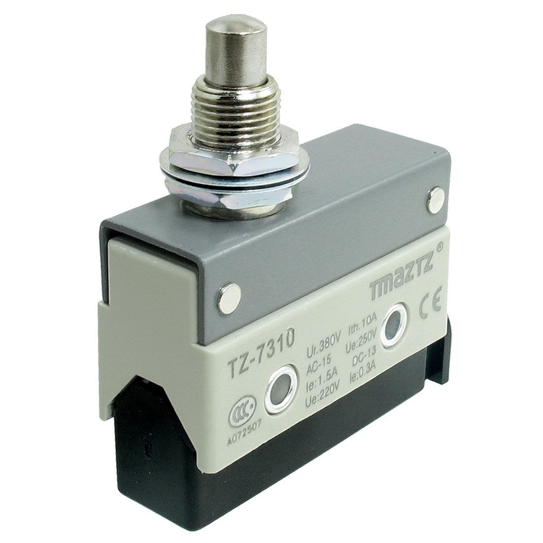 TZ-7310 Panel Mount Plunger Momentary Micro Switch Ui 380V Ith 10A